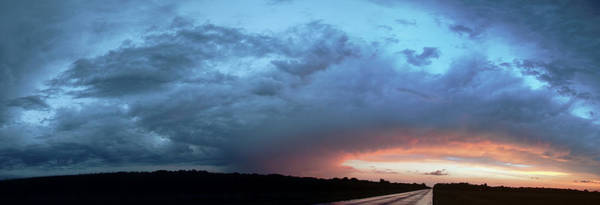 Photograph - Sunrise And Storm 003 by NebraskaSC