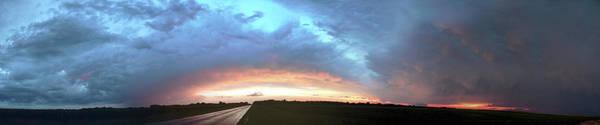 Photograph - Sunrise And Storm 004 by NebraskaSC