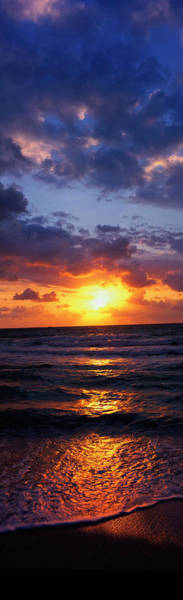 Photograph - Sunrise And Surf, Miami Beach, Fl by Jeff Greenberg