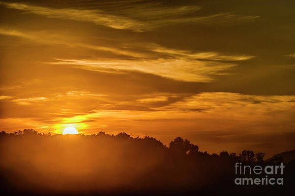 Photograph - Sunrise And Valley Mist by Thomas R Fletcher