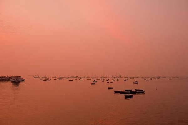 Photograph - Sunrise At Arabian Sea by Photograph By Jayati Saha
