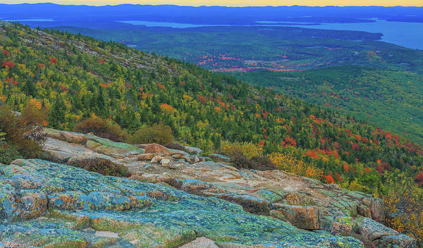 Photograph - Sunrise At Cadillac Mountain by Dan Sproul