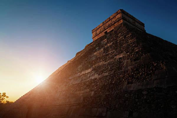 Yucatan Wall Art - Photograph - Sunrise At Chichen Itza, Mexico by Bjorn Holland