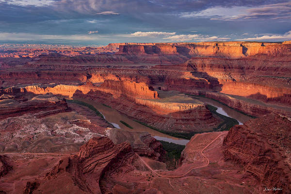 Photograph - Sunrise At Dead Horse Point State Park by Dan Norris