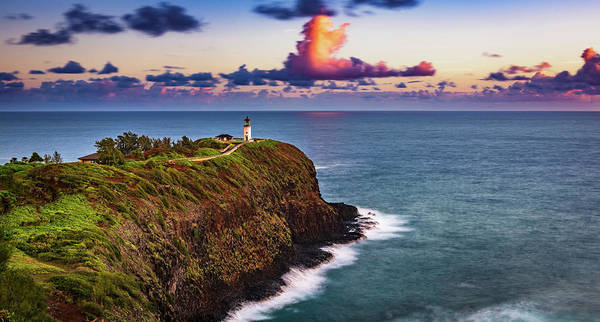 Photograph - Sunrise At Kilauea Point by John Hight