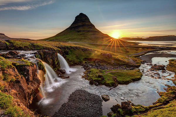 Photograph - Sunrise At Kurkjufell Iceland by Pierre Leclerc Photography