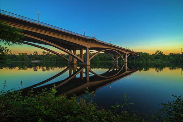 Photograph - Sunrise At Lake Natoma by Jonathan Hansen