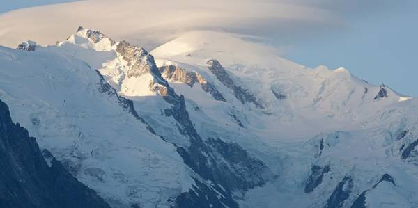 Photograph - Sunrise At Mont Blanc by Stephen Taylor