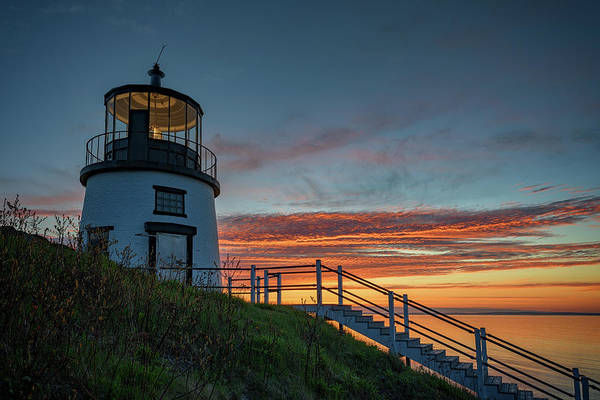 Wall Art - Photograph - Sunrise At Owls Head by Rick Berk