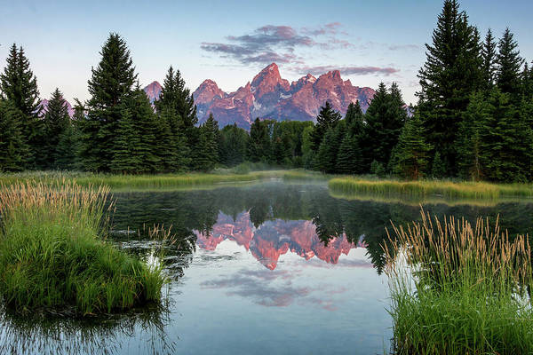 Photograph - Sunrise At Schwabacher by Ronnie and Frances Howard