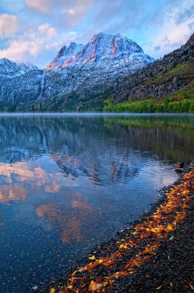 High Dynamic Range Imaging Photograph - Sunrise At Silver Lake, California by Bill Wight