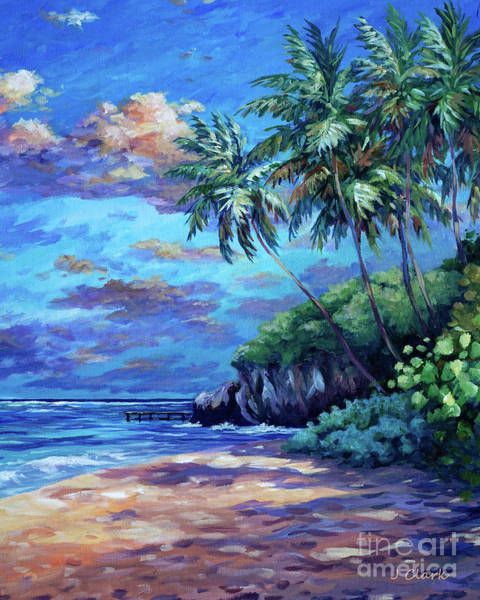 Wall Art - Painting - Sunrise At Spotts Beach  by John Clark