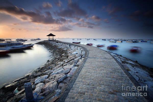 Wall Art - Photograph - Sunrise At Tanjung Benoa Nusa Dua, Bali by Randi ang