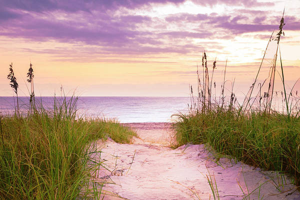 Photograph - Sunrise At The Dunes by Debra and Dave Vanderlaan
