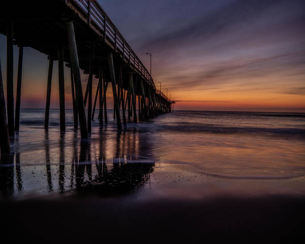 Photograph - Sunrise At The Pier by Pete Federico