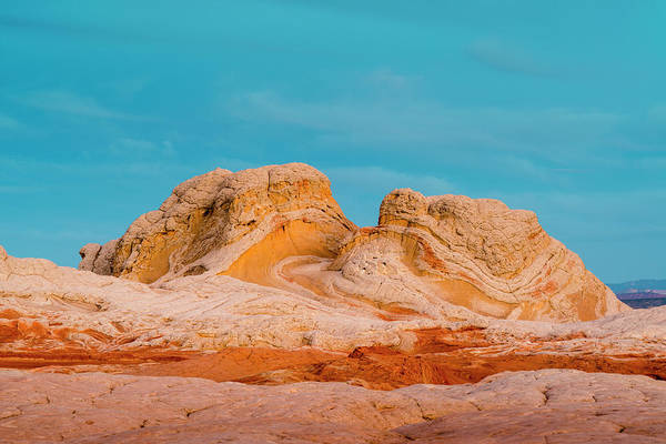 Wall Art - Photograph - Sunrise At Vermillion Cliffs, White by Howie Garber
