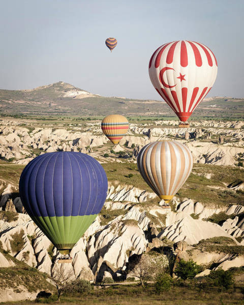 Cappadocia Photograph - Sunrise Balloon Flight, Cappadocia by Danita Delimont