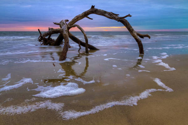 Wall Art - Photograph - Sunrise Bow by Debra and Dave Vanderlaan
