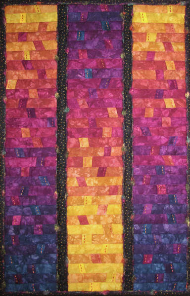 Tapestry - Textile - Sunrise Celebration by Pam Geisel