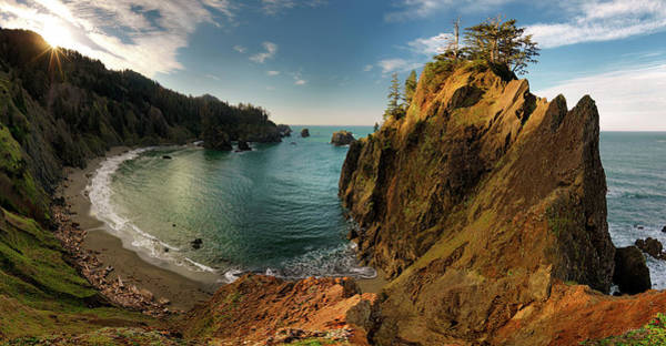 Photograph - Sunrise Cove by Leland D Howard