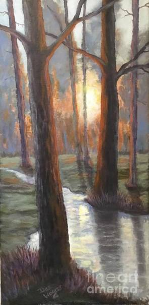 Painting - Sunrise Creek by Dan Wagner