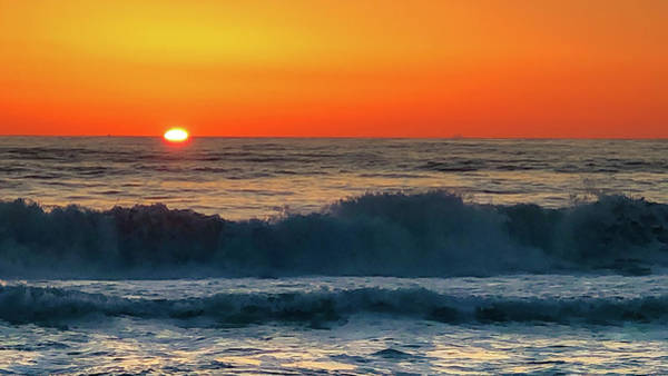 Photograph - Sunrise First Day by Mike Hudson
