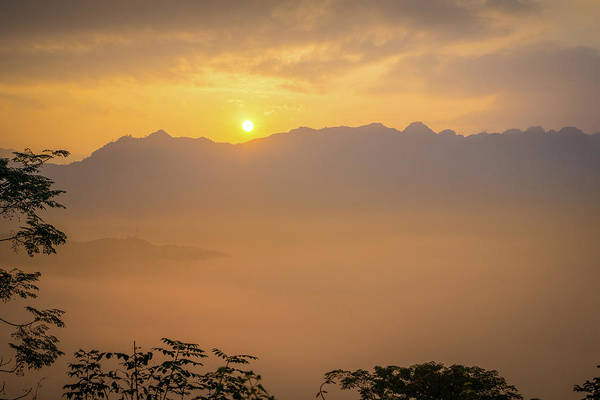 Photograph - Sunrise Ha Giang by Gary Gillette