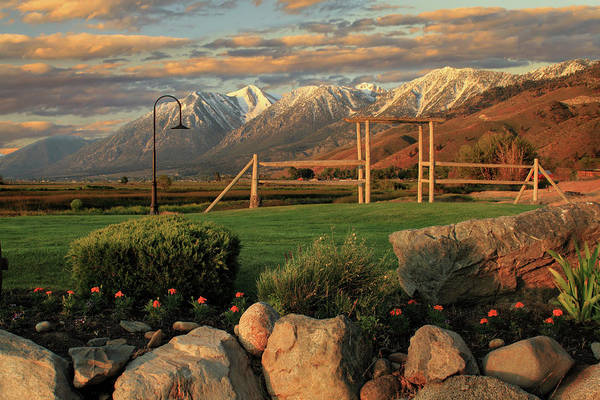 Photograph - Sunrise In Carson Valley by James Eddy