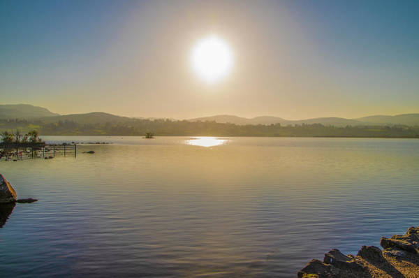 Photograph - Sunrise In Ireland - Lough Eske - Donegal by Bill Cannon