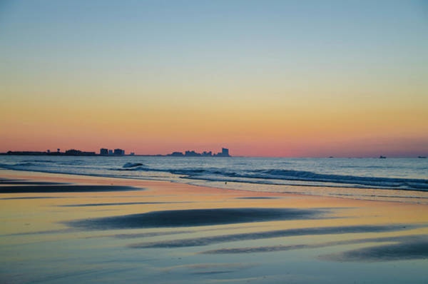 Photograph - Sunrise In New Jersey - Ocean City by Bill Cannon