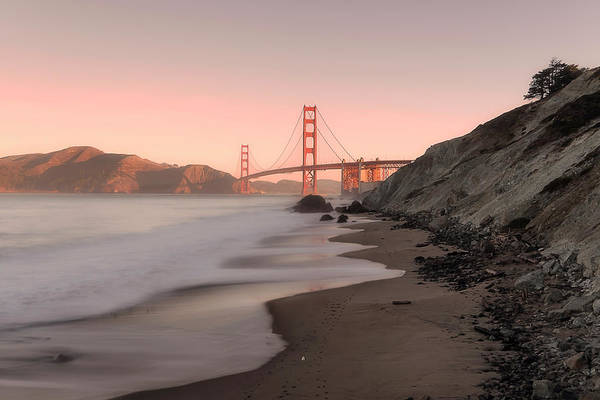 Photograph - Sunrise In San Fransisco- by JD Mims
