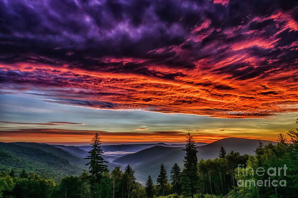 Photograph - Sunrise In The Highlands by Thomas R Fletcher