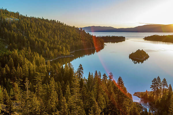 Lake Tahoe Photograph - Sunrise, Lake Tahoe, Usa by Stuart Dee