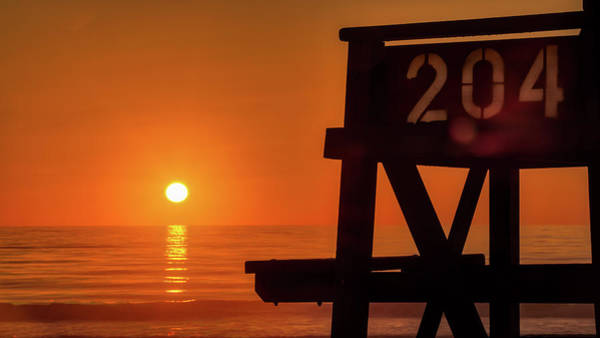 Photograph - Sunrise Lifeguard 204 by Dillon Kalkhurst