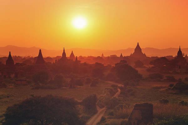 Photograph - Sunrise by Marji Lang