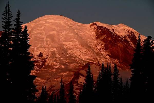 Photograph - Sunrise Mount Rainier by Ed  Riche