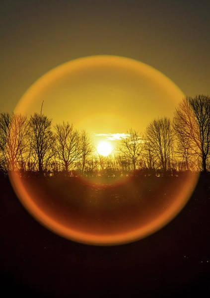 Photograph - Sunrise. New Years Eve. by John Dakin
