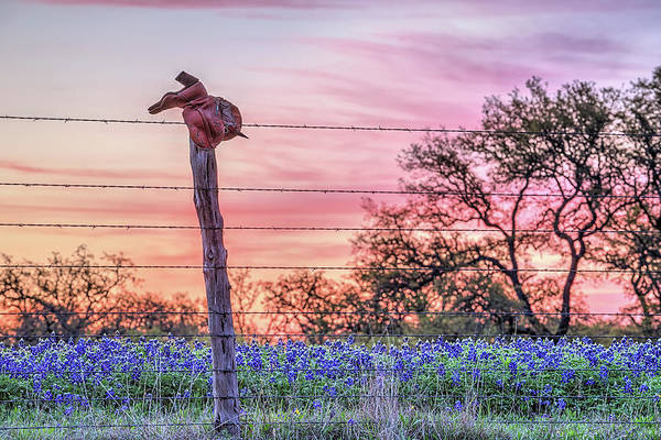 Photograph - Sunrise On A Texas Ranch by JC Findley