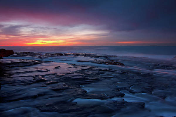 Freshwater Photograph - Sunrise On Beach by Andi Surjanto
