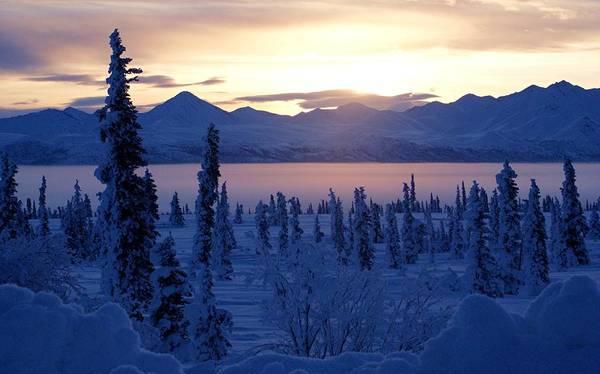 Alaska Photograph - Sunrise On Ice Fog by Jls Photography - Alaska