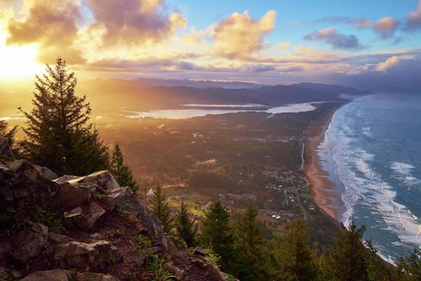 Photograph - Sunrise On Neahkahnie by Whitney Goodey