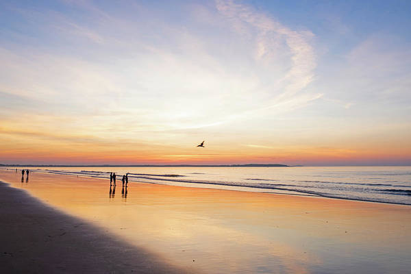 Wall Art - Photograph - Sunrise On Old Orchard Beach Main by Toby McGuire