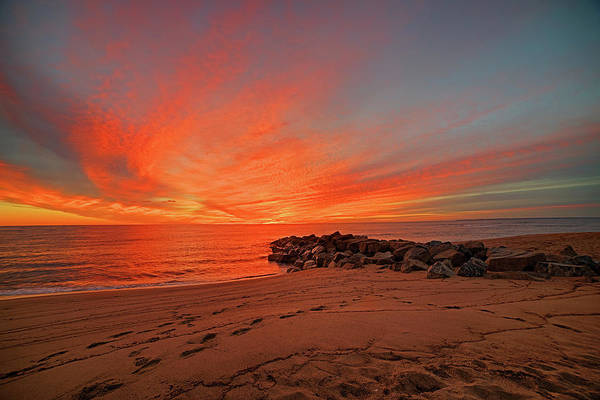 Photograph - Sunrise On Plum Island Newburyport Ma by Toby McGuire