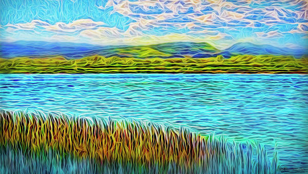 Digital Art - Sunrise On The Waters by Joel Bruce Wallach