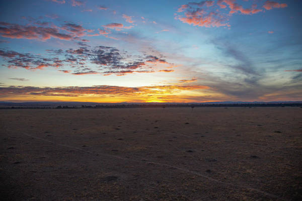 Photograph - Sunrise Over The Mara by Thomas Kallmeyer