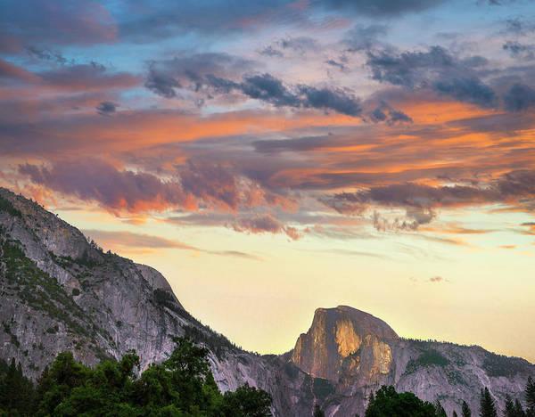 Photograph - Sunrise Over Half Dome, Yosemite by