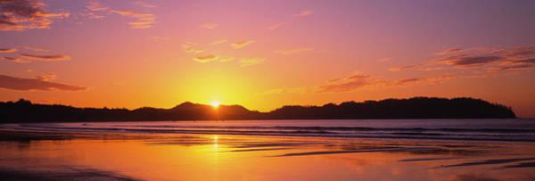 Wall Art - Photograph - Sunrise Over Hills, Samara Beach by Panoramic Images