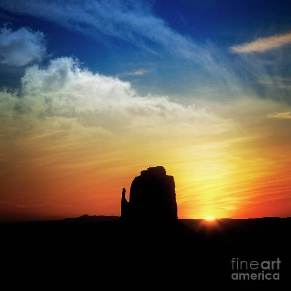 Photograph - Sunrise Over Mitten by Scott Kemper