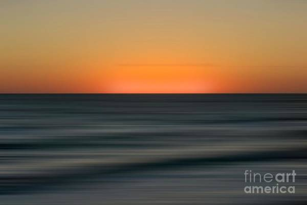 Wall Art - Digital Art - Sunrise Over The Atlantic Abstract by Elijah Knight