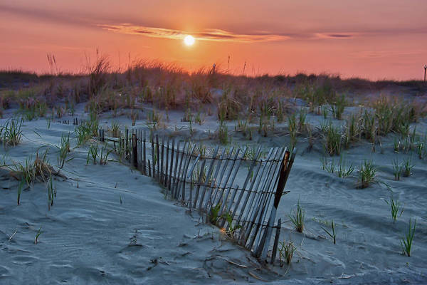 Photograph - Sunrise Over The Dunes - Wildwood Crest New Jersey by Bill Cannon